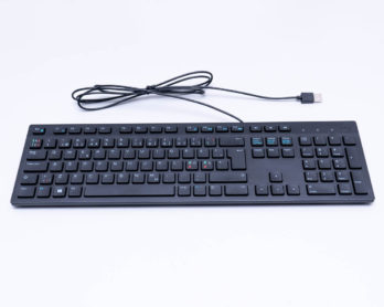 Clavier QWERTY Dell filaire